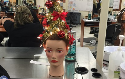 Holiday Up-Do's by STI Cosmetology Students