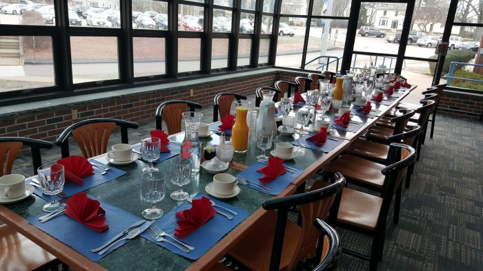"""Another Successful High School Guidance Breakfast """"On the Books"""""""