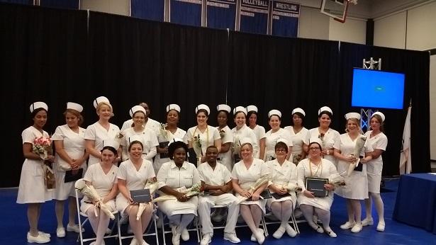 The Class of 2016 Evening Practical Nurse Graduates