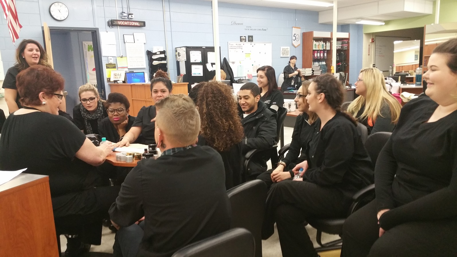 Specialized Training for Cosmetology Students
