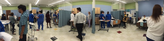 Practical Nurse and Medical Assisting Students Simulation Collaboration