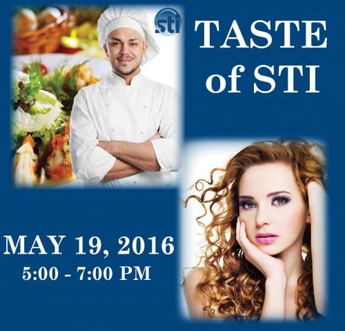 1st Annual TASTE of STI – May 19, 2016