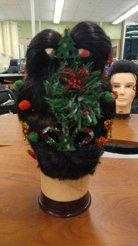 Holiday Updo Contest Winners