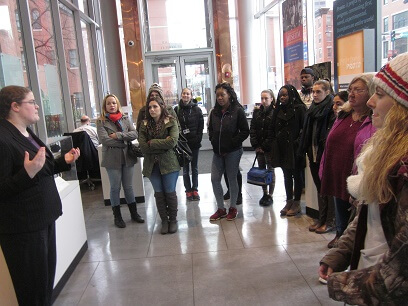 Medical Assisting Students Visit Boston Museums