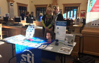 STI Admissions Team Visit Stoughton and Norwood High School