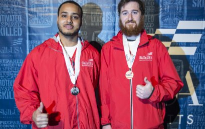 STI Adult HVAC Students Take Home Gold and Silver in the SkillsUSA Competition