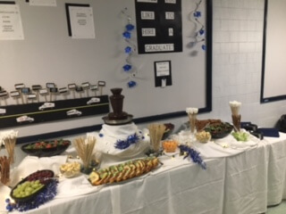 Chocolate, Treats, and Hot Cocoa Help STI Students Relax Before Finals