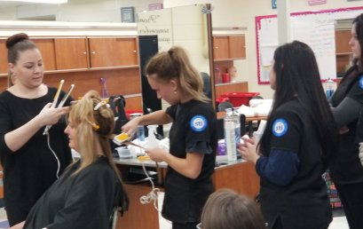 Cosmetology Students & Alumni Experience the Global Keratin System