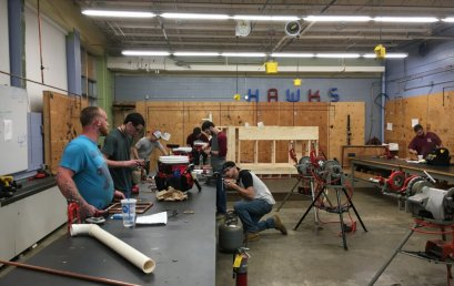 Plumbing Students Successfully Completed Two Certifications