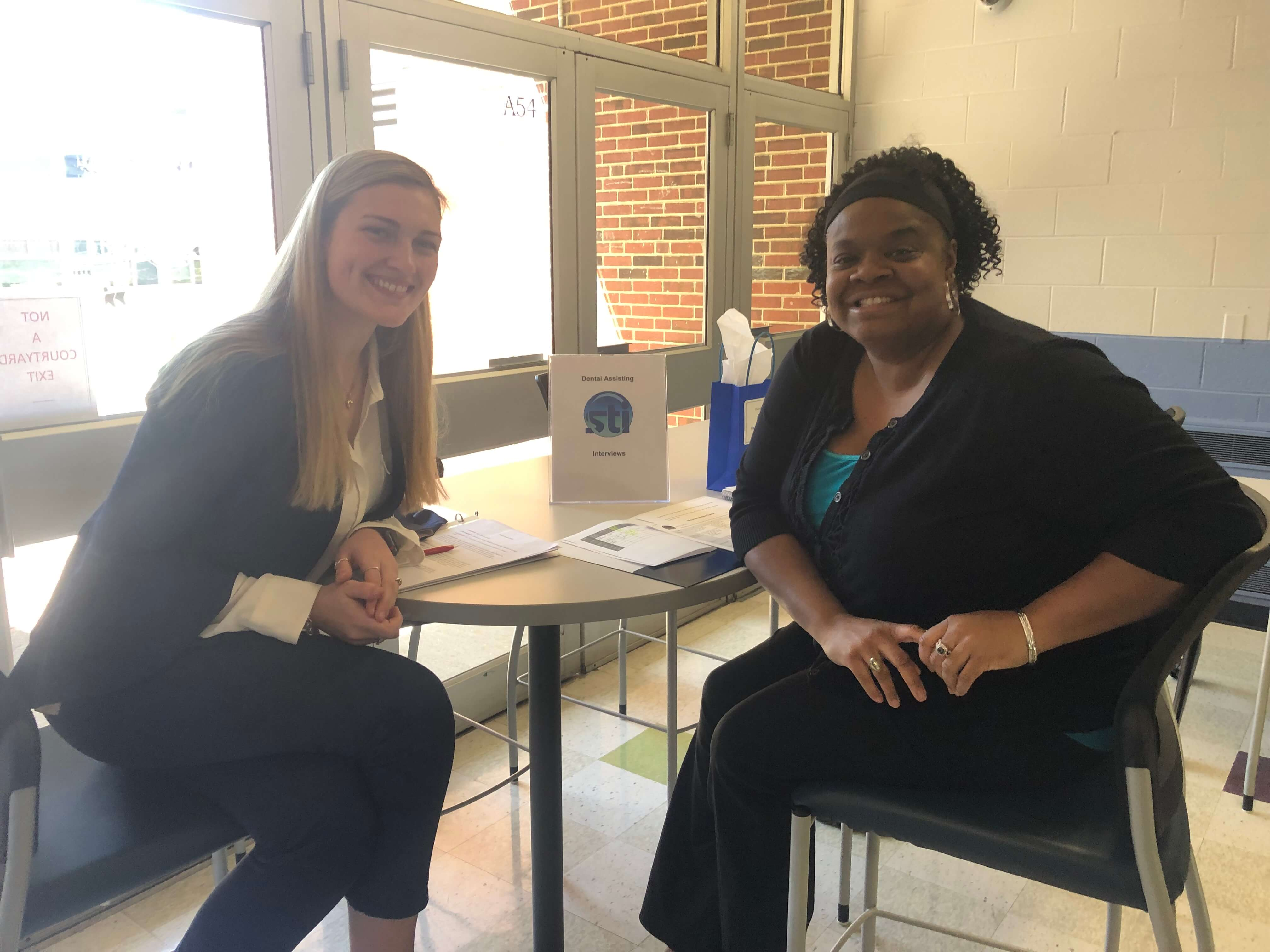 Dental Assisting Students Participate in Mock Interviews