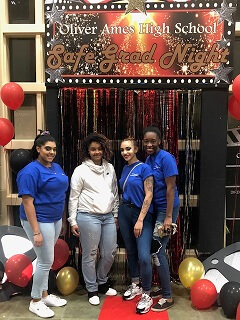 STI Cosmetology Students and Staff Participate in Oliver Ames' Safe Grad Night
