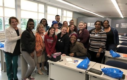 Practical Nurse Speakers Provide Invaluable Information to STI's Graduating Class
