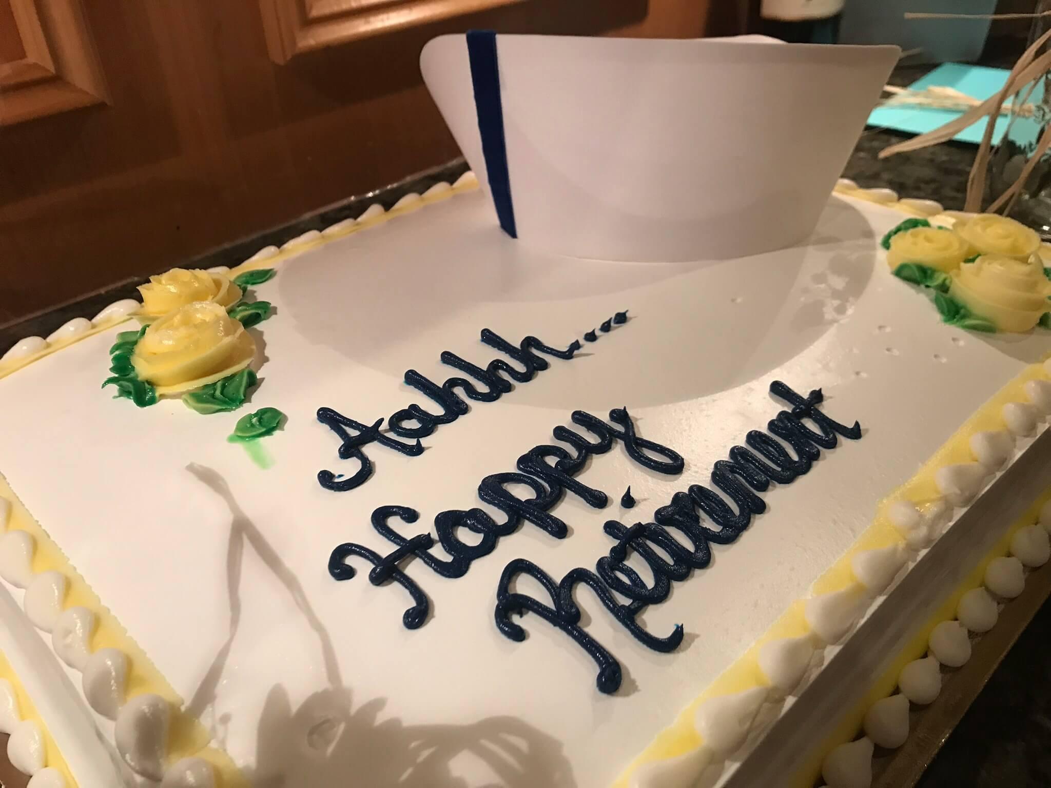 Happy Retirement, Mrs. Pepin!