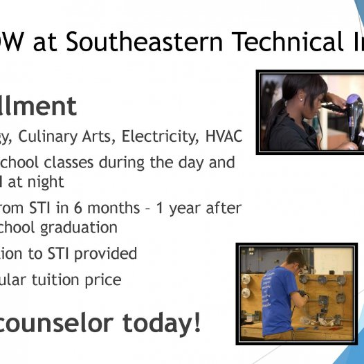 Dual Enrollment Opportunities for In-District High School Students