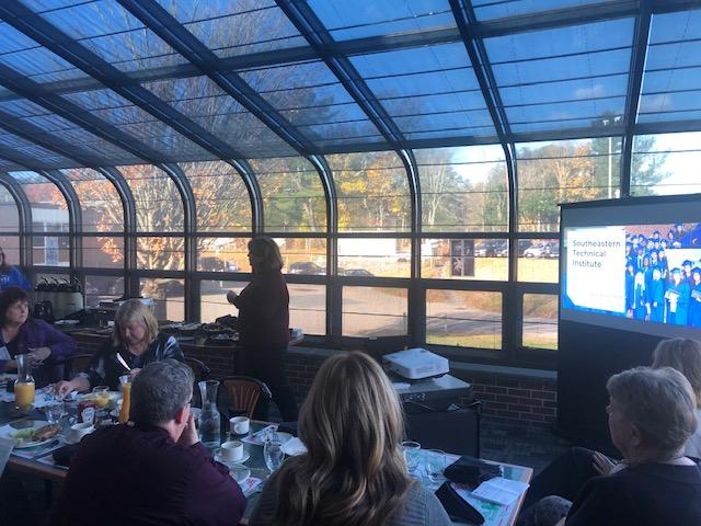 STI Hosts a Fall Guidance Breakfast