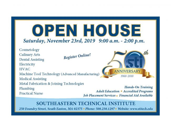 Open House November 23rd