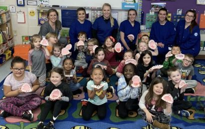 Students Celebrate Children's Dental Health Month & Recognition Week